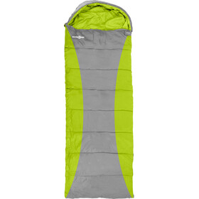 Brunner Camper Outdoor Rectangular Sleeping Bag green/grey